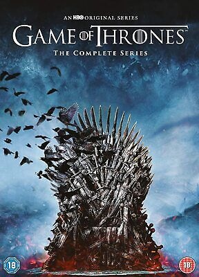 Game of Thrones Seasons 1-8 - The Complete Series [2019] (DVD) Emilia Clarke