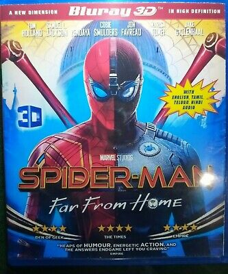 SPIDER MAN - FAR FROM HOME 2019 Full HD 3D Bluray disc