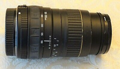 QUANTARAY 100-300mm f/4.5-6.7 AF Lens For CANON MADE IN JAPAN