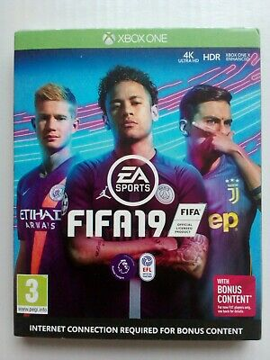 Fifa 19 .( Xbox One). With Bonus Content. Brand New Sealed.