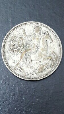 Silver .835 Greece 20 drachmai 1960 King Paulos See the offer now! 70 coins