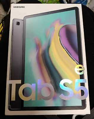 BOXED FULLY WORKING SAMSUNG TAB S5e SM-T725 4G/LTE 64GB 4GB RAM ANDROID TABLET