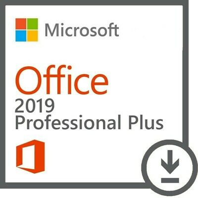 🔥MS Office 2019 Pro Plus Lifetime License - Retail Key - Online Activation