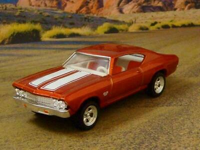 RESTO MOD 1969 69 Chevrolet Chevelle SS 396 V-8 Big Block 1/64 Scale Ltd Edit M