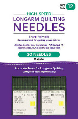 High Speed longarm Quilting Needles