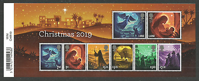 Gb 2019 Christmas Nativity M/Sheet Mnh