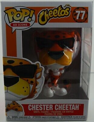 Funko Pop Ad Icons Cheetos Chester Cheetah #77 Ready to Ship.
