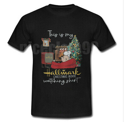 This Is My Hallmark Christmas Movie Snoopy²  Watching T shirt Size S M L XL 2XL