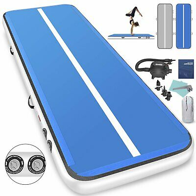 Air Track Floor Inflatable Airtrack Gymnastics Tumbling GYM Mat 4M/6M with Pump