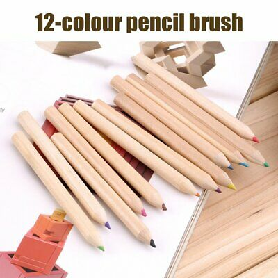 12 Different Colores Pencil Set With Sharpener Painting Pencils For Kids