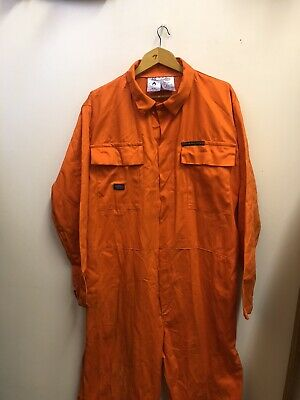 Dickies Vintage Orange Jumpsuit Boilersuit Workwear Size Large