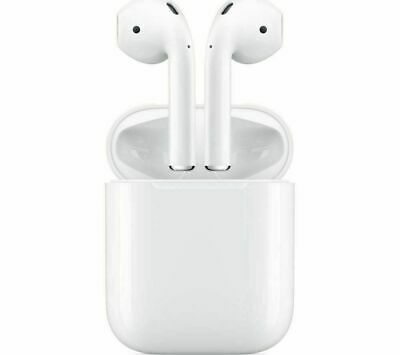 Genuine Apple AirPods 2nd generation with Charging Case White Bluetooth 2019