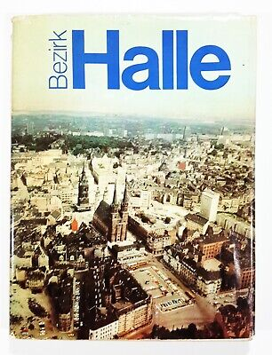 GDR Publisher Time in Picture 1981 District Hall (Saxony-Anhalt)