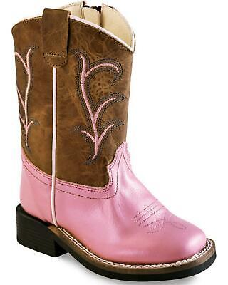BSI1853 Old West Toddlers/' Corona Cowboy Boot Square Toe