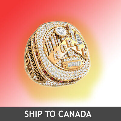 2019 NBA Champions Toronto Raptors Replica Championship Ring Official Design NEW