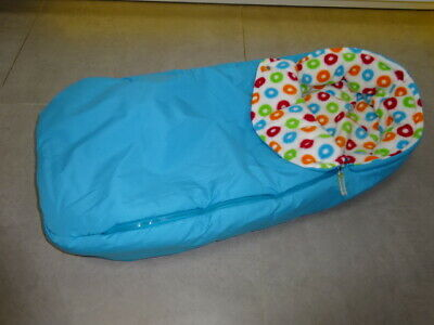 Stokke Xplory Soft Bag Carrycot NEST Blue & Colourful Dots Footmuff/Cosytoes