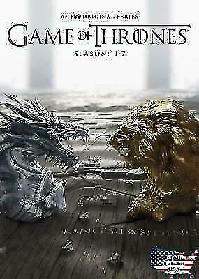 Game of Thrones: Seasons 1-7 (DVD, 2017) 34 Disc Box Set *BRAND NEW*