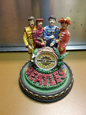 Limited Edition Beatles Sgt Pepper Musical Bell Jar 1993 Franklin Mint #P7745