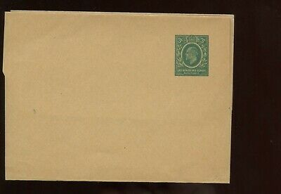British Commonwealth East Africa & Uganda KEVII 3c Wrapper UNUSED