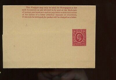 British Commonwealth East Africa & Uganda KEVII 1A Wrapper UNUSED