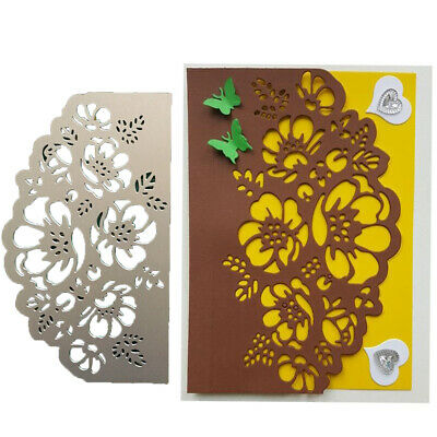FP- Flower Lace Cutting Dies Scrapbook Emboss Paper Cards Craft Stencil Mold