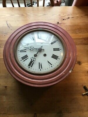 Antique French  Wall Clock