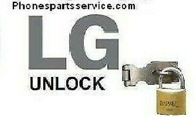 LG  Factory Unlock Code ++ all IMEI + recent models not supported