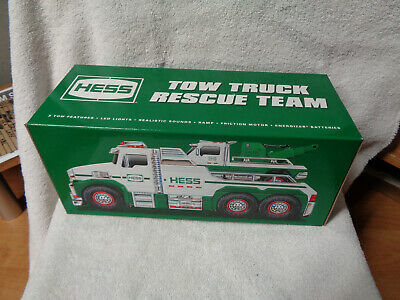 "2019 Hess Tow Truck / Rescue Team Limited Edition "" In Hand""  Free Shipping Nib"