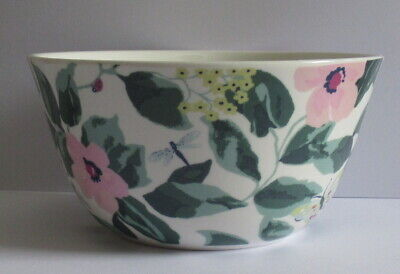 Cath Kidston Cereal Bowl - Floral Design with Bee, Ladybird, Butterfly etc.