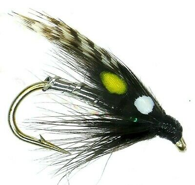 10 SMALL  Hot Headed  Damsel SZ 12 Lures Trout Flies