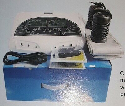 Dtoxa-Cell Foot detox and ionic cleanse, Dual output foot spa... NEW (open box)