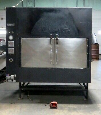 Ole Hickory Pit EL-ED/X BBQ Smoker Natural Gas Cooker Rotisserie Oven B