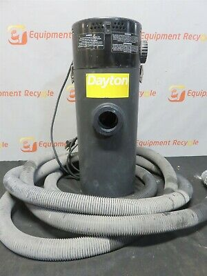 "Dayton 2Z988C Dry Vacuum Hang Up Dry 6 Gallon 1 1/2"" Hose 2Z988C"