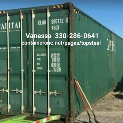 Steel Conex / Cargo / Storage / Shipping Container