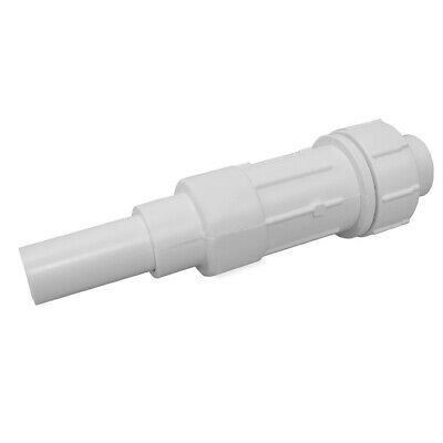 "1-1/4"" IPS PVC Expansion Coupling, 9"" Body Length,PartNo E09125 JonesStephens"