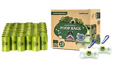 Pet waste bags Biodegradable Extra leakproof recyclable materials Dispenser bags
