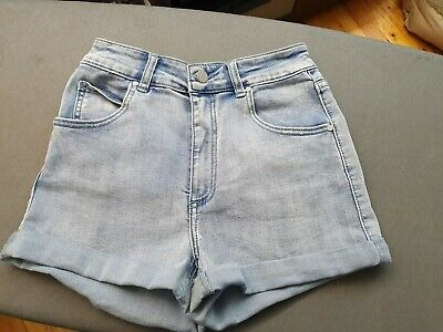 Girls SEED TEEN Soft Touch Denim Look Shorts - Size 10