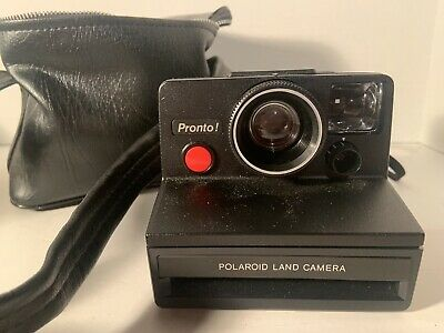Vintage Polaroid SX-70 Pronto Instant Film Camera
