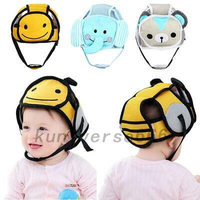 Infant Baby Toddler Safety Hat Headguard Walk Cap Kids No Bumps Protector UK