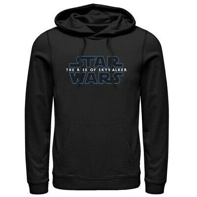 Men's Star Wars The Rise of Skywalker Classic Logo Graphic Hoodie -Choose Size