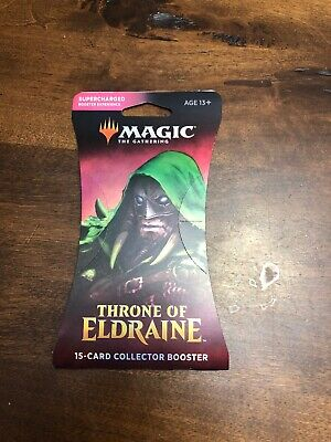 Magic the Gathering Throne of Eldraine 15 Card Collector Booster SEALED
