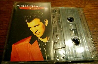 Chris Isaak~Wicked Game~Cassette Tape Album~Fast Post~Blue Hotel