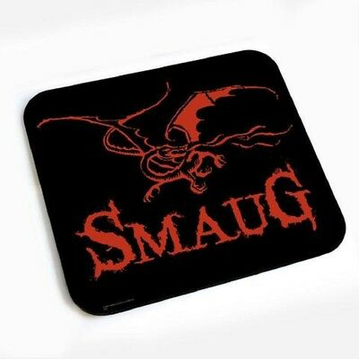 The Hobbit: Dragon Mouse Pad The Desolation of Smaug Lord of the Rings NEW