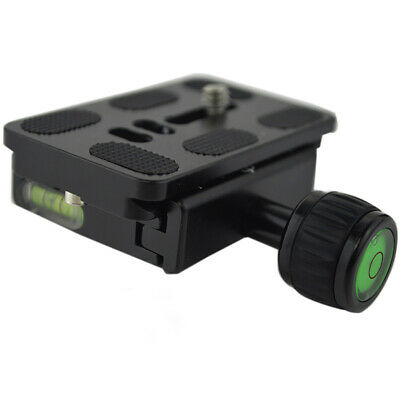 Quick Release Plate Clamp Universal Tripod Smooth Aluminum Alloy Wear Resistant