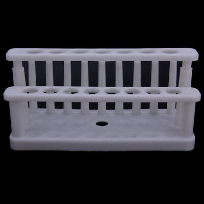 15holes plastic test tube rack testing tubes holder storage stand lab supply  R
