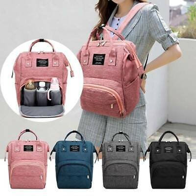 New Luxury Large Mummy Maternity Nappy Diaper Bag Baby Bag Outdoor Backpack FW