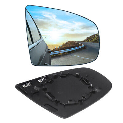 Heated Door Mirror Glass and Backing Plate PAIR fits 2007-2013 BMW X5 X6 E70 E71