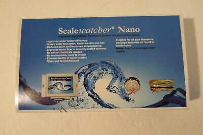 Scalewatcher Nano Electronic Descaler Conditioner Treatment Water Softener  *NEW
