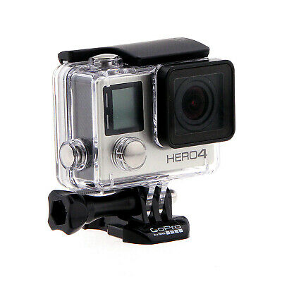 GoPro Hero 4 Silver Edition Waterproof Camcorder CHDHY-401 With Touch Screen