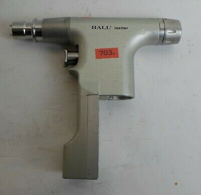 ConMed Hall reamer Surgical 5048-03  chirurgisches Instrument  mk 703 rot